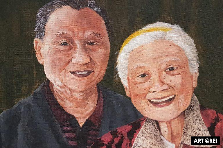 2019 Firbank Archibald Prize with 2018 Winner Yvette Coppersmith